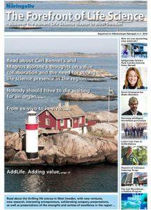 Affärstidningen The Forefront of Life Science uppmärksammar S-CUT.